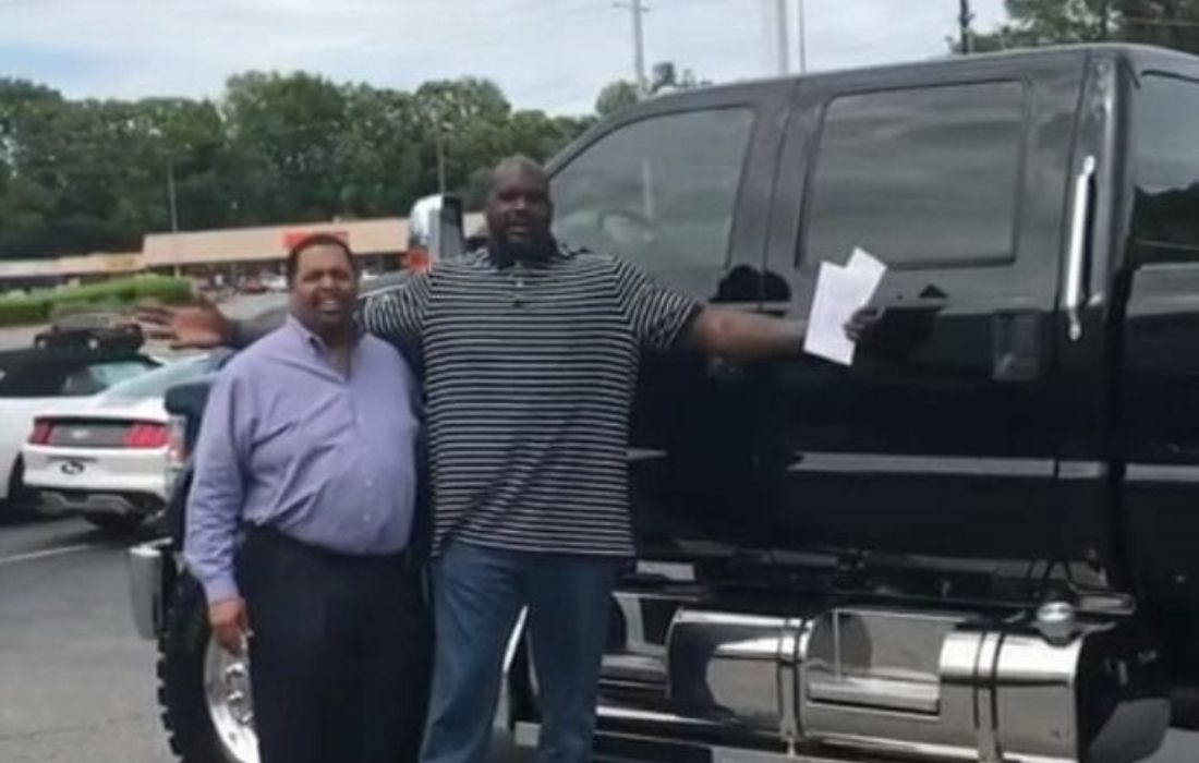 Ford F-650 Pickup Is Shaquille O'Neal's Daily Car